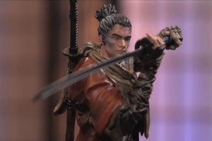 《只狼:影逝二度》典藏版开箱 主角雕塑略显呆滞涣散!