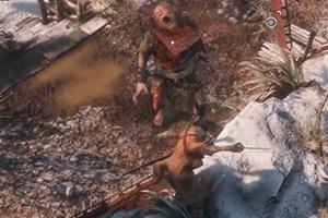 《只狼》赤鬼无伤打法 强攻智取不好使 来试试邪道吧