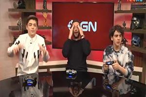 电影《雷霆沙赞!》三位主演直播玩《Apex英雄》!