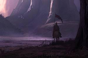 《巫师3》概念画师海量作品欣赏 游戏场景恢弘大气!