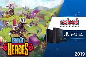 索尼公布卡通风新游《ReadySet Heroes》PS4预告