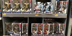 《复仇者联盟4》玩具沃尔玛提前上架 全员白色制服