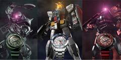 日本名表老厂精工联动《高达》 3款40周年纪念表公布