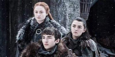 《权力的游戏》第八季狼子团聚,史塔克真好惨一家人