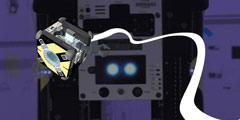 装备六个相机的立方体 NASA机器人Astrobee进入太空