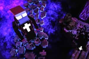 像素风3D恐怖冒险游戏《神父》发售 对抗恶魔解谜题!