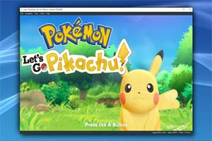 """Yuzu""Switch模拟器完美运行《宝可梦LetsGo》"