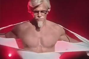肯德基发布了一条母亲节广告视频 简直就是基中之霸