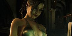 《生化危机2:重制版》克莱尔秒变性感波霸社长Mod