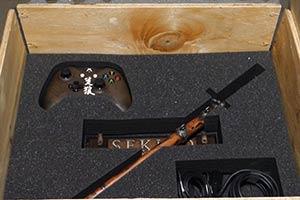 《只狼:影逝二度》X1X限定主机开箱 满满忍者的气质