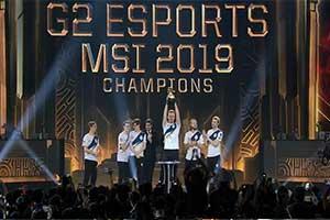 G2斩获《英雄联盟》MSI 2018总冠军!3:0战胜TL!