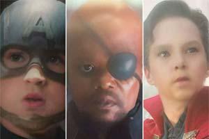 """漫威超级""""小英雄""""《复仇者联盟4》演员集体变8岁!"""
