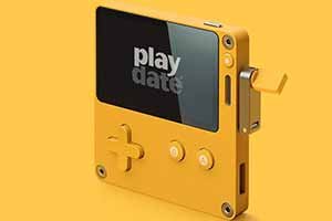 新掌机Playdate首批演示图公开 手摇手柄能够发电?