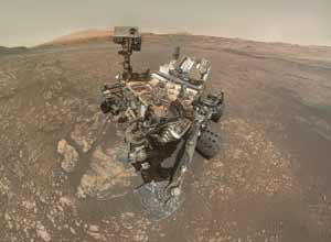 火星孤独流浪者——NASA好奇号日前传回最新自拍照