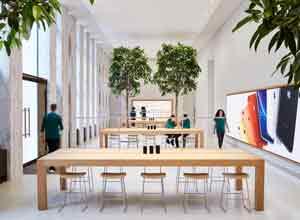 新古典主义现代化空间 苹果零售店进驻百年图书馆