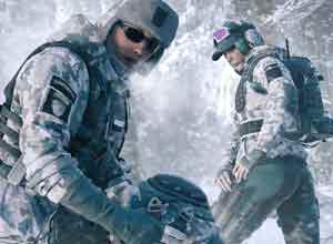 《彩六:围攻》冰封同捆 波兰小姐姐北极苔藓制服