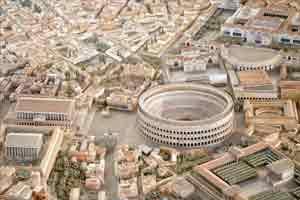世界上最细致的罗马古城模型 长200米制作耗时35年