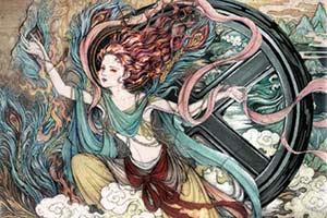 《X战警:黑凤凰》曝敦煌壁画风海报 美轮美奂太惊艳