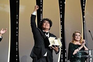 戛纳电影节:《寄生虫》为韩国获首个金棕榈大奖!