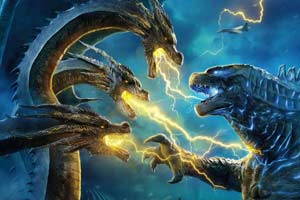 IMAX震撼来袭!哥斯拉大战三头巨龙,燃到让人抖腿