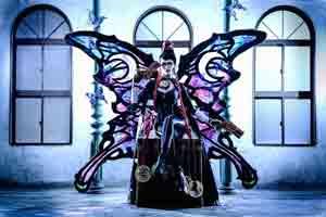 蝴蝶夫人华丽霸气 11区御姐《猎天使魔女》贝姐COS