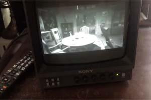 恐怖氛围超浓厚!玩家用黑白电视玩《生化危机7》