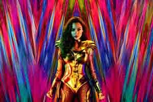 《神奇女侠1984》首曝海报 加朵女神化身黄金圣斗士