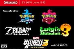E3:任天堂将开放《宝可梦:剑/盾》《塞尔达》试玩