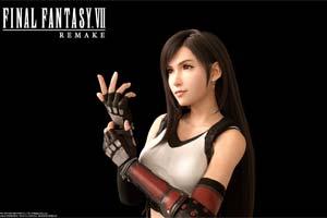 E3:蒂法美如画!《最终幻想7:重制版》高清角色图!