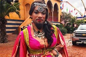 威尔史密斯晒《阿拉丁》的女装照片!网友:好漂亮!