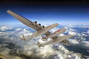 全球最大飞机Stratolaunch开卖 预计售价4亿美元
