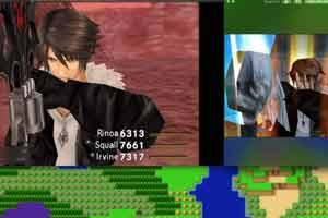 《最终幻想8:重制版》角色建模与原版对比影像赏!