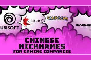 外媒解釋中國玩家的廠商外號:你以為