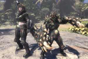 《怪物猎人世界》将加入动态难度 双人打怪更加容易!