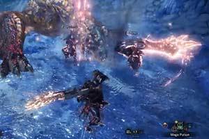《怪猎世界》冰原DLC新试玩 打趴轰龙仅1分53秒!