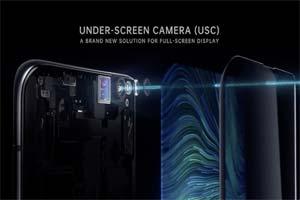 """真全面屏手机!OPPO屏下摄像解决方案""""USC""""公开"""