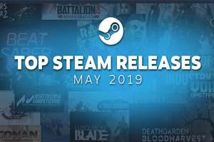 "Steam""5月最热新品游戏""TOP20《全战三国》上榜"