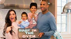 霍福德坐拥NBA最美娇妻艾米利亚·维嘉 又怀孕了!