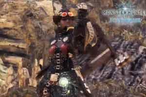 飒爽英姿!《怪物猎人世界:冰原》女性痹贼龙套装展示