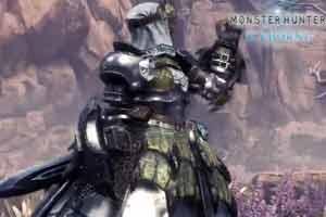 《怪物猎人世界:冰原》新雌火龙套装展示 坚不可摧!