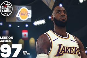 玩自己比较有意思?詹皇分享《NBA 2K20》试玩片段