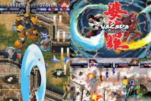 经典街机弹幕游戏重制《婆娑罗高清合集》11.14发售!