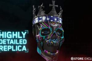 《看门狗:军团》收藏版含实体骷髅面具 LED灯超酷!