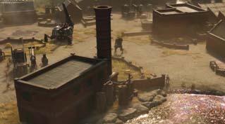 """即时战略游戏《钢铁收割》新地图""""石油泄漏""""预告"""