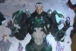 《守望先锋》新英雄西格玛公布 手盘核桃掌控重力!