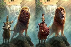 """好想撸""""猫""""!艺术家把真狮版《狮子王》还原成动画"""