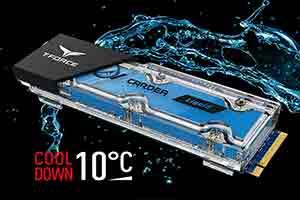 全球首款水冷SSD!封闭循环降温可将温度降低10℃