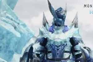凛然霸气!《怪物猎人世界:冰原》霜翼风漂龙套装展示