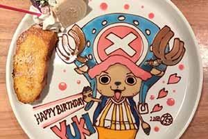 甜点不配拥有姓名!日本绘师将「二次元」搬上餐桌!