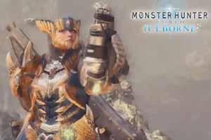《怪猎世界》DLC轰龙套装展示 忠实还原前作形象!